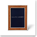 "Ralph Lauren Brockton 5""x7"" Frame, Saddle"