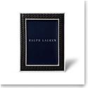 "Ralph Lauren Brockton 5""x7"" Frame, Black"