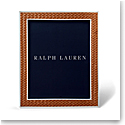 "Ralph Lauren Brockton 8""x10"" Frame, Saddle"