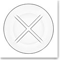 Kosta Boda Bruk Clear Salad Plate, Set of Four