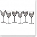 Waterford Crystal, Lismore Diamond Crystal Goblet, Boxed Set 5 1 Free