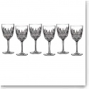 Waterford Crystal, Lismore Diamond Crystal White Wine, Boxed Set 5 1 Free
