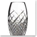 "Waterford Crystal, House of Waterford Wild Atlantic Way 10"" Crystal Vase"