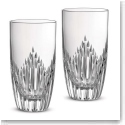 Monique Lhuilier Waterford Crystal, Stardust Crystal Hiball Tumbler, Pair