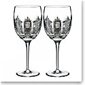 Waterford Crystal, Essentially Dungarvan Crystal Goblet, Pair
