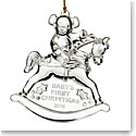 Marquis by Waterford 2016 Baby's First Ornament