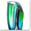 "Kosta Boda Mirage 8"" Vase, Blue and Green"