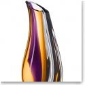 "Kosta Boda Orchid 14 1/2"" Crystal Vase"