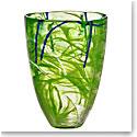 Kosta Boda Contrast Vase, Lime