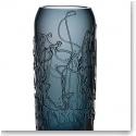 "Kosta Boda Twine 15 3/4"" Grey Crystal Vase"