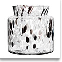 Kosta Boda Bjork Wide Crystal Vase