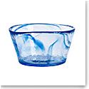 "Kosta Boda Crystal Mine Blue 5.25"" Bowl"