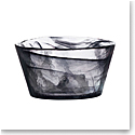 "Kosta Boda Crystal Mine Black 5.25"" Bowl"