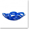 Kosta Boda Small Basket, Blue