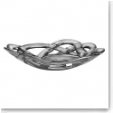 Kosta Boda Basket Large Bowl, Silver