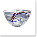 Kosta Boda Contrast Small Bowl, Grey