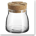 Kosta Boda Bruk Jar with Cork Clear, Small