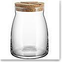 Kosta Boda Bruk Jar with Cork Clear, Large
