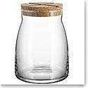Kosta Boda Bruk Jar with Cork Clear, Large