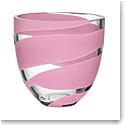 Kosta Boda Non Stop Pink Bowl