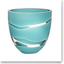Kosta Boda Non Stop Turquoise Bowl