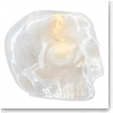 Kosta Boda Still Life Skull Crystal Votive, Pearl