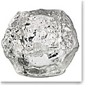 Kosta Boda Snowball Large Crystal Votive, Single
