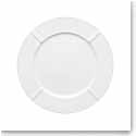 Kosta Boda Bruk White Porcelain Plate, Single