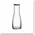 Kosta Boda Bruk Carafe with Oak Lid, Clear