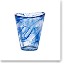Kosta Boda Crystal Mine Blue Tumbler, Single