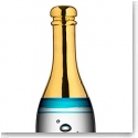 Kosta Boda Celebrate Crystal Champagne Bottle, Blue