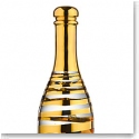 Kosta Boda Celebrate Crystal Champagne Bottle, Gold