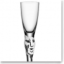Kosta Boda Open Minds Crystal Shot Glass, White, Single