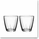 Kosta Boda Bruk Small Clear Tumbler, Set of Four