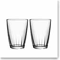 Kosta Boda Bruk Large Tumbler Clear, Set of Four