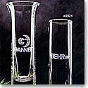 "Crystal Blanc, Personalize! 7.5"" Bud Vase"