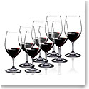 Riedel Ouverture, Magnum Glass Crystal Wine Glasses Set 6   2 Free