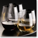 Riedel O Stemless, 2 Cabernet, 2 Chardonnay, Buy 3   1 Free Wine Glass Set