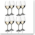 Riedel Vinum, Chablis Chardonnay Crystal Wine Glasses, Set of 6+2 Free