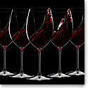 Riedel Veritas, Cabernet, Merlot Crystal Wine Glasses Set of 6 + 2 Free