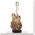 Kosta Boda Art Glass Kjell Engman Gold Guitar Limited Edition of 60