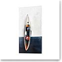 Kosta Boda Art Glass, Bertil Vallien Escape Boat, Limited Edition of 60