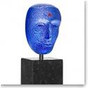 Kosta Boda Art Glass, Brains Bertil Vallien Blues Limited Edition