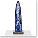 Kosta Boda Art Glass Bertil Vallien Out Look Half Boat, Limited Edition