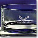 Crystal Blanc, Personalize! Carrington Crystal Bowl, Large