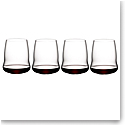 Riedel Stemless Winewings Cabernet Sauvignon, Set of 4