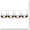 Riedel Stemless Winewings Champagne, Riesling, Set of 4