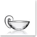 """Steuben Olive 5"""" Bowl"""