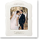 "Lenox Opal Innocence Love Is Patient 8 x 10"" Frame"