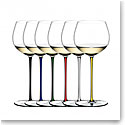 Riedel Fatto A Mano, Oaked Chardonnay Crystal Wine Glasses, Set of 6